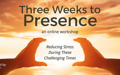 Three weeks to presence an online workshop